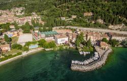 Le ferie sul lago di Garda presso Borgo Alba Chiara in settembre