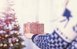 Ferie sul lago di Garda sotto all'albero di Natale