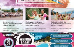 Appartamenti per famiglie lago di Garda: la CORSA DEI COLORI 2018