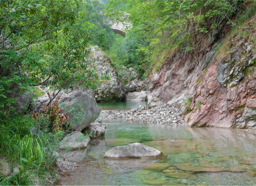 Valle cartiere - fiume